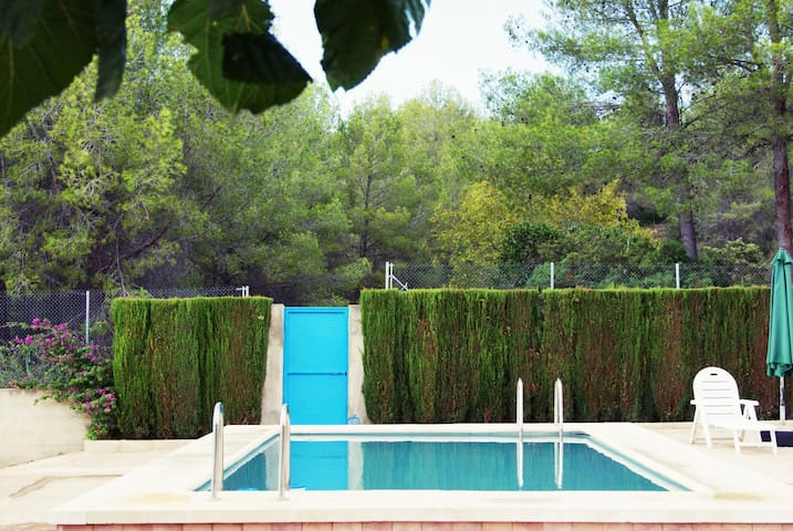 Amazing house with pool close to Xativa Valencia