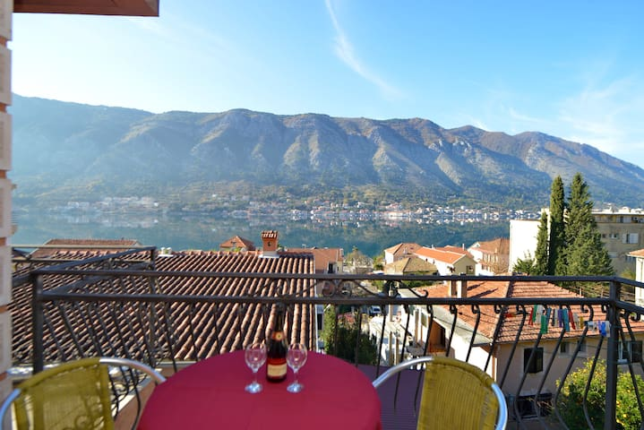 Vukotic - Studio with Balcony and sea view 1 - Kotor - Wohnung