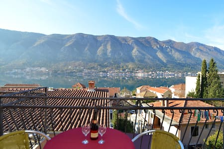 Vukotic - Studio with Balcony and sea view 1 - Kotor - Appartement