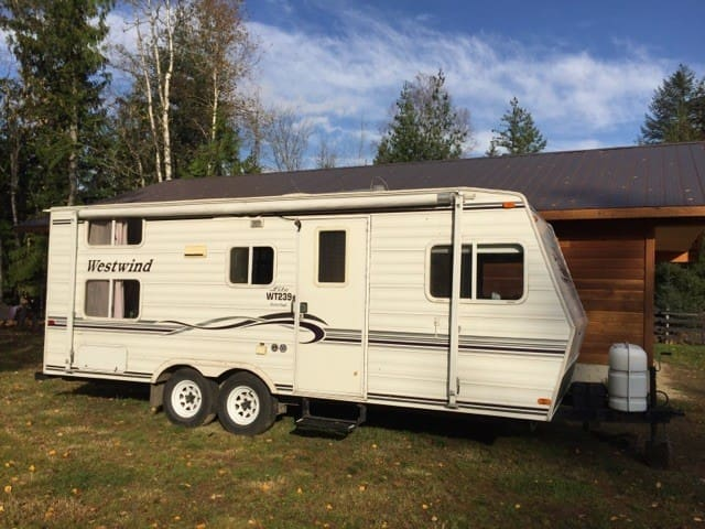 Your own trailer to explore Revelstoke and area.