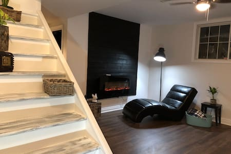 Peaceful Country side basement apartment