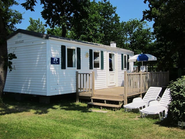 Three Bed Mobile Home With Decking