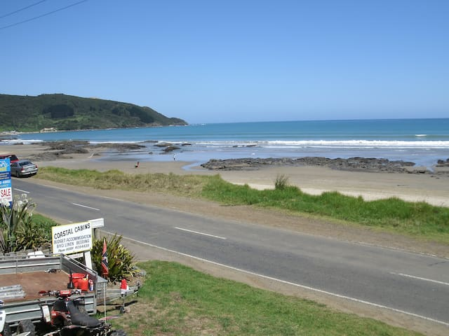 90 mile beach Coastal Cabins #1 in Ahipara - Ahipara - Hytte