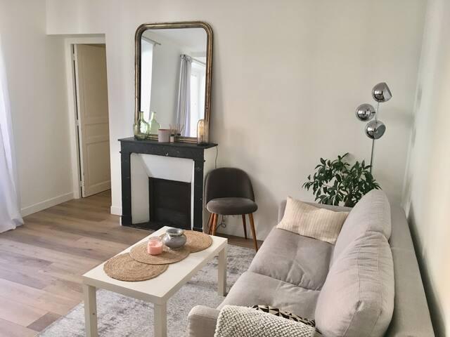 Appartement neuf et lumineux à 10min de Montmartre