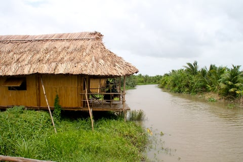 Nguyen Shack - Can Tho (Family bungalow)