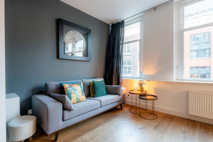 Luxury & Style Private Apartment In Center Jordaan