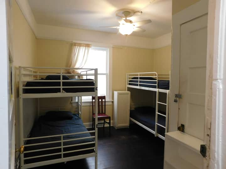 Downtown Bed In 4 Bed Female Dorm