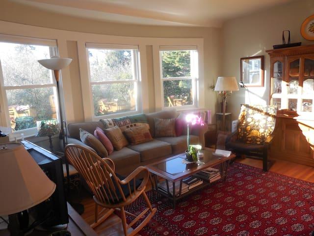 Presidio Paradise!  Beautiful quiet flat in SF