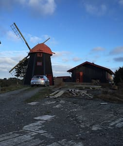 Lovely old windmill as holiday home