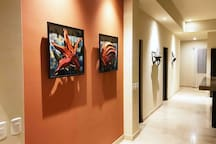 Entry way to memorable times