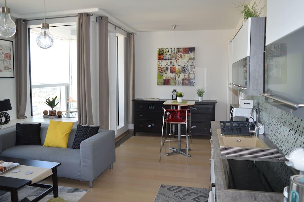 apartment PANORAMA CITY 26-th floor