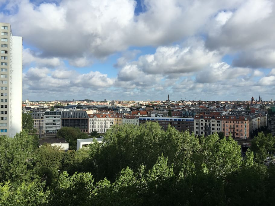 your view over Berlin-Mitte and Prenzlauer Berg