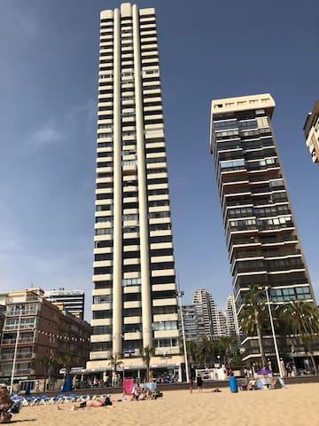 Apartamento primera línea de Playa Levante