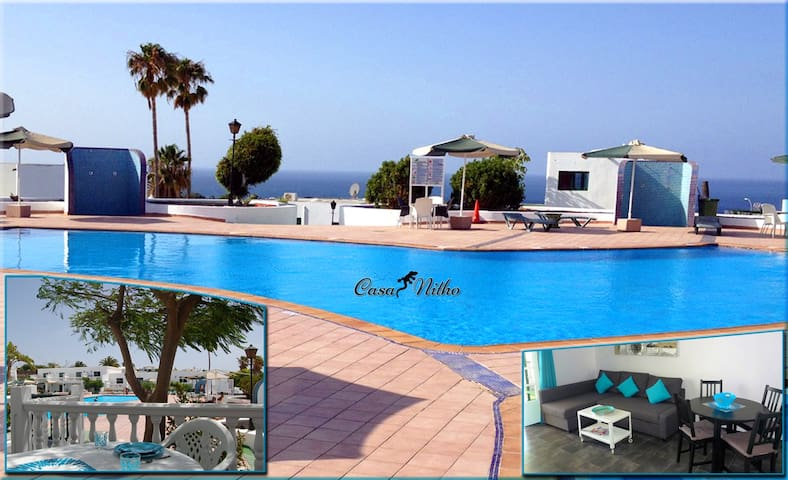 Casa Nitho - Beautiful Top-Apt., seaview, pool