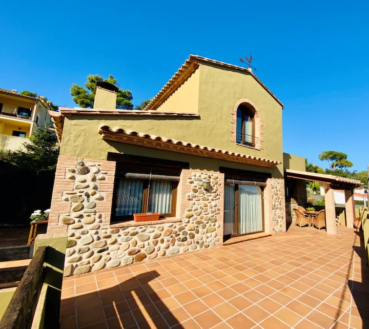Villa con encanto, ideal para tus vacaciones.