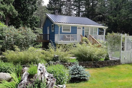 The Little Blue Cottage on Bargain Bay