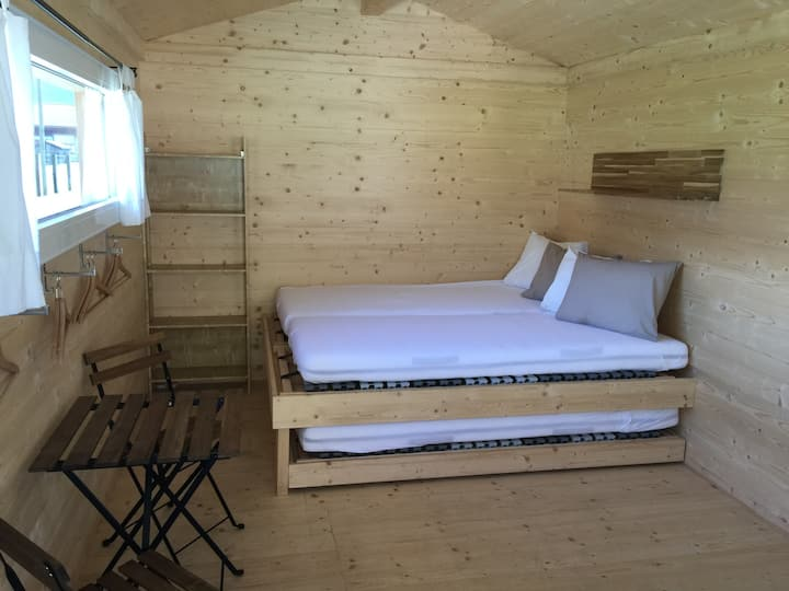 Swiss Woodhouse - Camping