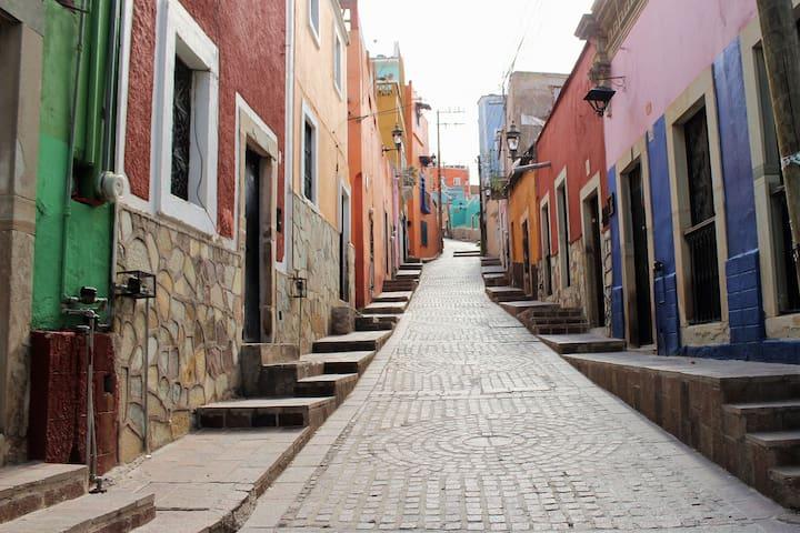 Habitación privada en Gto, CENTRO - Guanajuato - Leilighet