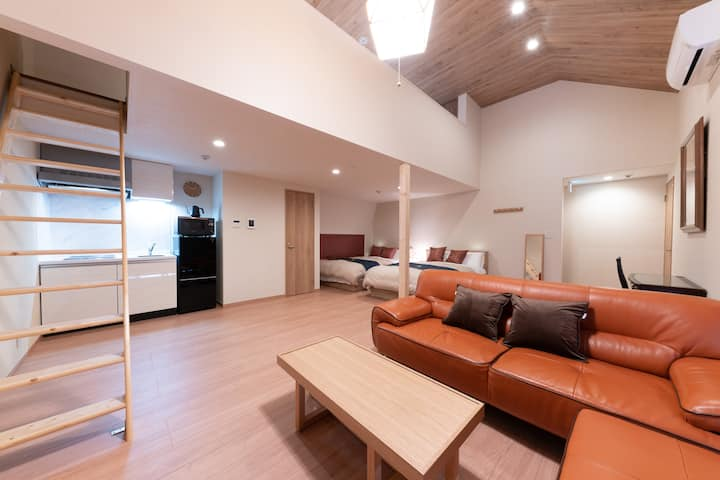 GoTo!Villa 55㎡ near Lake Ashi/8P/Free Wifi