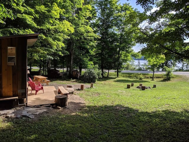 Private Cabin on the Mississippi River