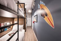 Hostel G Perth Australia -Bed in Good Shared 4 XL