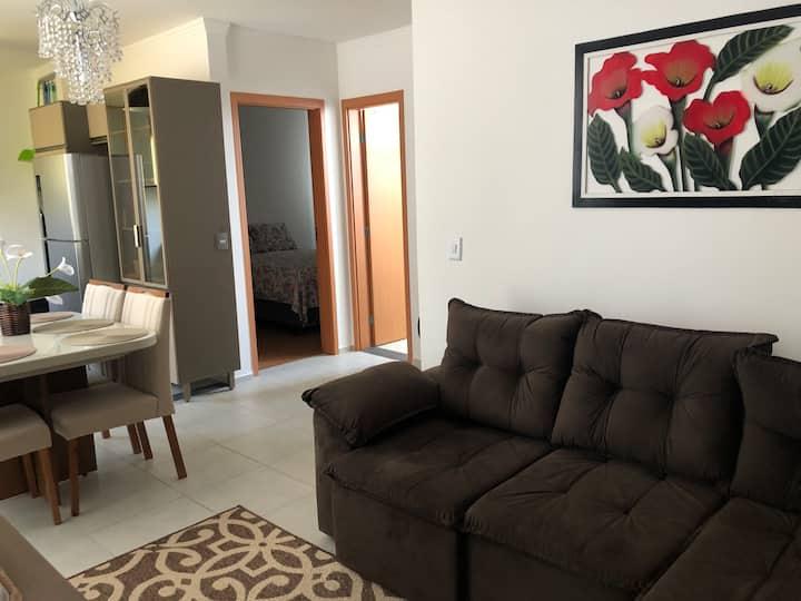 Apartamento Novo Mobiliado e Acesso com Elevador