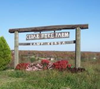 Cedar Fire Farm: A Nature Retreat - Frankfort