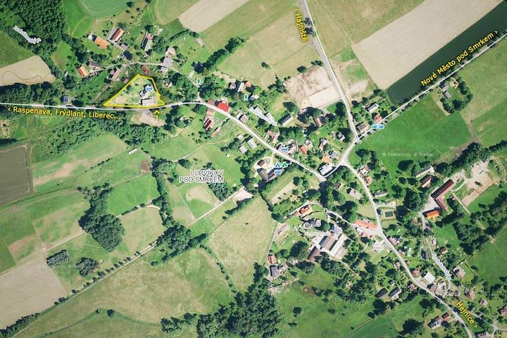 Ex-farmhouse U Kyslika - room no.1