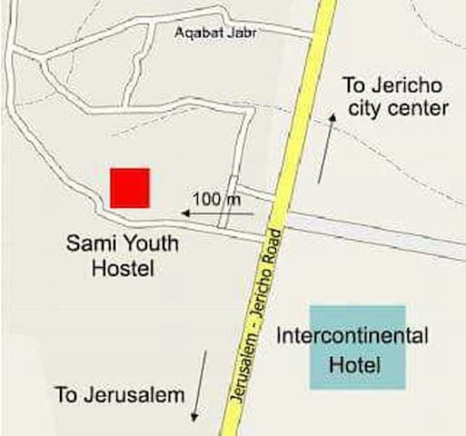 10 min walk to Jericho Center - أريحا - Oda + Kahvaltı