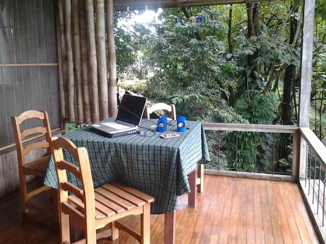Cabin in the Jungle! Best location Manuel Antonio! - Quepos - Daire