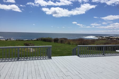 Spectacular Oceanfront Vacation Home - Biddeford