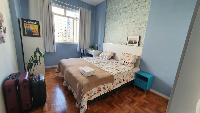Comfortable room in the iconic Maletta Building