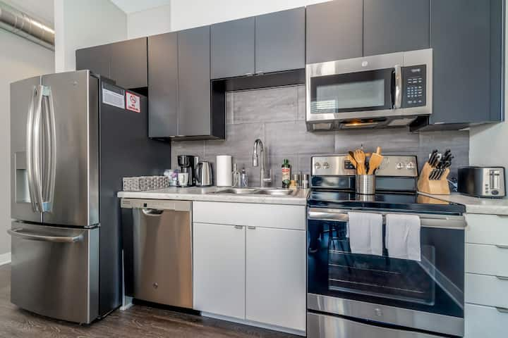 Kasa Des Moines Downtown Apartments One Bedroom Apartments For Rent In Des Moines Iowa United States