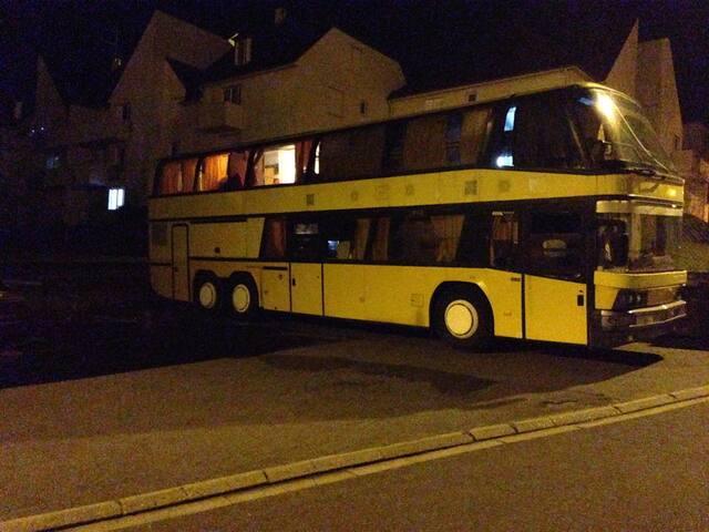 Tourbus double étage