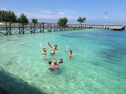 Tidung Lagoon Resort Block C Ocean & Island view