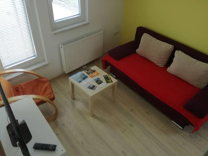 Yellow Apartment - former hayloft