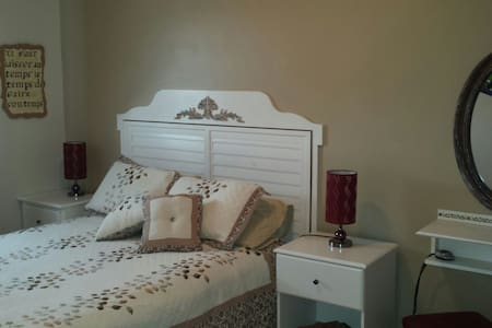 Chez mamie ( chambre beige )