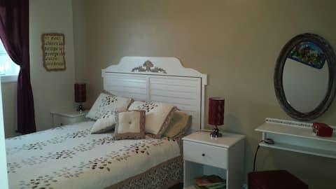 Grandma's (beige bedroom)