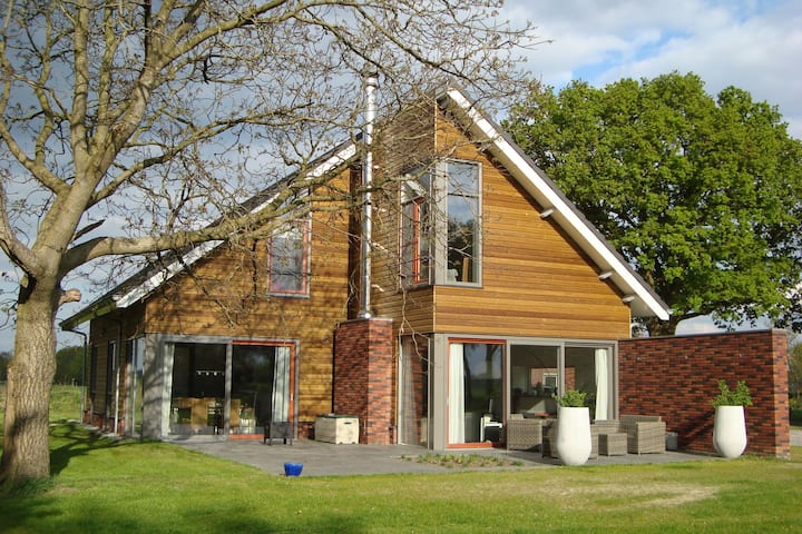 Beautiful detached villa with sauna located near Sallandse Heuvelrug