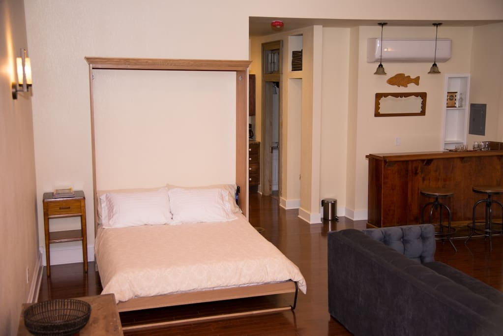 State of the Art Murphy bed will give a fabulous night's sleep