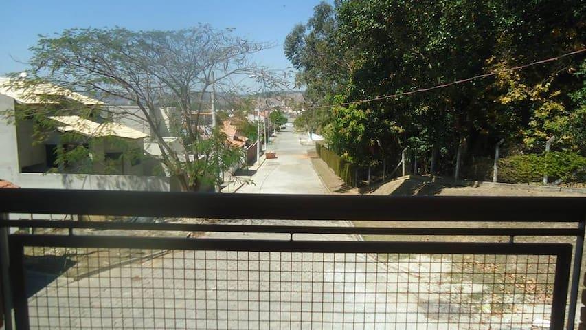 Vista da varanda da Suíte