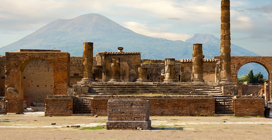 Pompei Ruins, Vesuvio,Capri,Naples