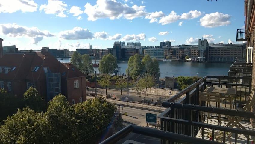 Sunny appartment with balcony - København - Lejlighed