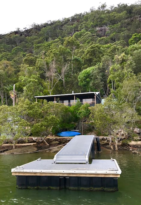 Your own private jetty.