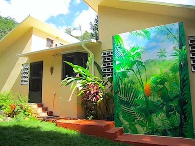 Eco Rainforest Mini Resort w/Natural Pool - Rio Blanco - House