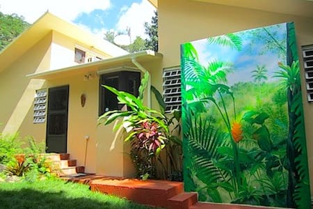 Eco Rainforest Mini Resort w/Natural Pool - Rio Blanco
