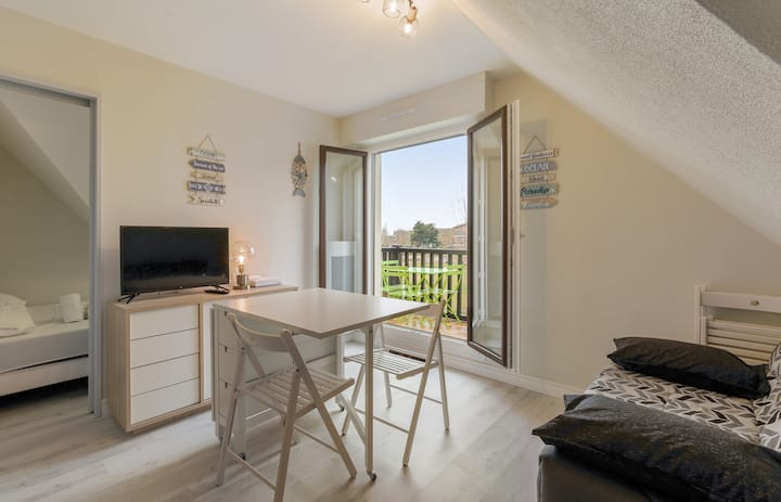 Nice flat with balcony, 150m to Cabourg's beach - Welkeys