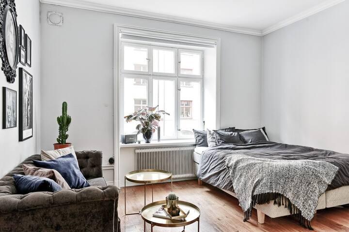 Studio apartment in popular Vasastan, Stockholm