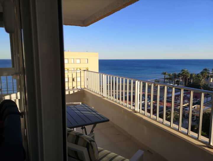 Primera línea de playa Alicante, 2 dorm, NUEVO