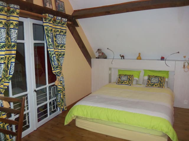 Nice room in stunning french house - 1 rue des champs, 12350 Lanuéjouls - B&B/民宿/ペンション
